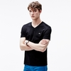Lacoste V-neck Jersey Cotton/Polyester Men's T-Shirt